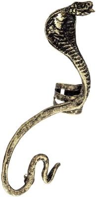 Amroha Crafts Snake Alloy Cuff Earring