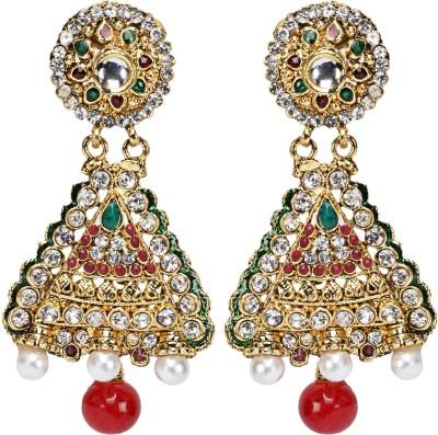 Oars Rajwada earrings Alloy Jhumki Earring