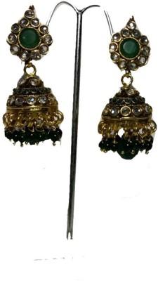 Sesmal Designer Copper Jhumki Earring