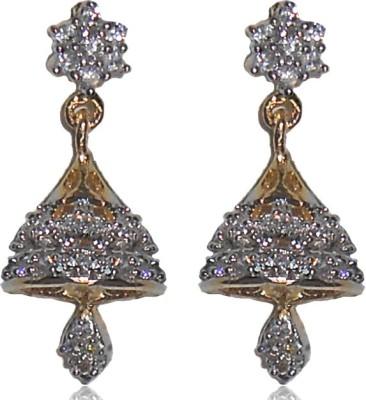 Shubh 4u American Diamond Alloy Jhumki Earring