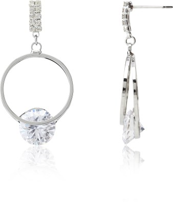 Svelte Unique Exclusive Zircon Alloy Dangle Earring