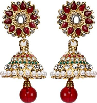 Oars Alloy Jhumki Earring