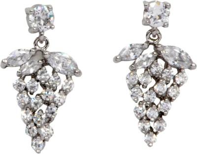 Royal Graceful Silver Alloy Dangle Earring