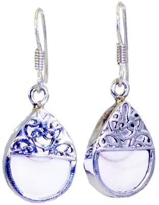Riyo Excellentstar Pearl Pearl Sterling Silver Dangle Earring