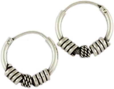 925 Silver Silver Hoop Earring