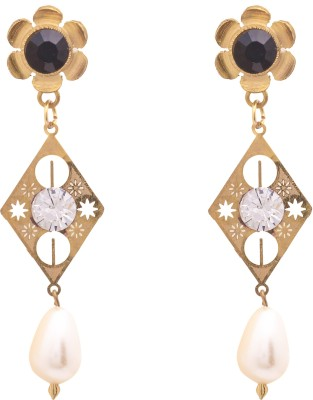 Sankisho Zam-N Drop Metal, Alloy, Glass Drop Earring