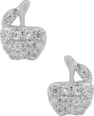 Factorywala Sterling Charming Pair Of Ear Studs Alloy Stud Earring