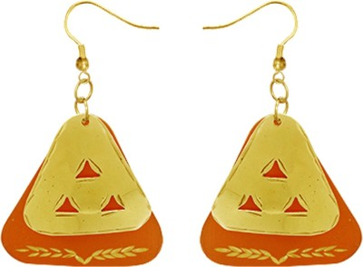 Kenway Retail Spicy Euphoria Brass Dangle Earring