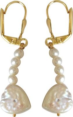 Surat Diamond Pearl Metal Clip-on Earring