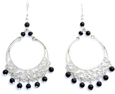 Laron Handicrafts Glass, Metal Chandbali Earring