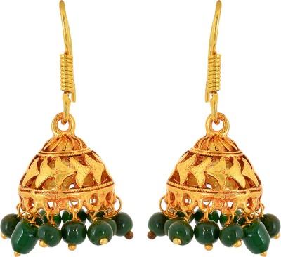 Subharpit Stunning Jhumki Beads Metal Jhumki Earring