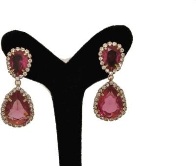 Arohi Jewells & Gems AJG48 Copper Earring Set