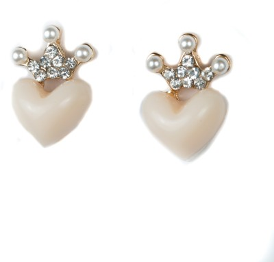 A Bit of Me Queen Of Hearts Alloy Stud Earring