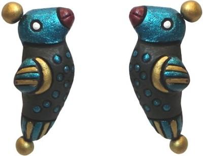 Charvee Birdy Terracotta Stud Earring