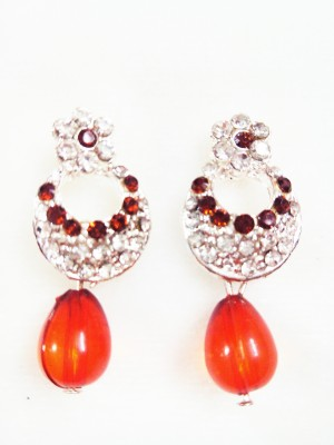 maya creation party were Rose Gold Drop Earring