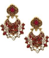 Prakruthi Antique Pearl Alloy Chandelier Earring best price on Flipkart @ Rs. 477