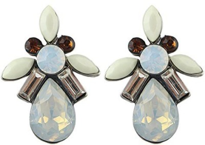 Fayon Weekend Casual Multicolour Crystals Alloy Stud Earring