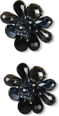 Aimez Blackz Floral Beach Metal Clip-on Earring