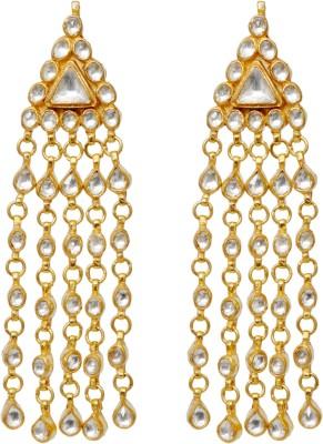 Khushbu Art Jewellers Kundan13 Alloy Drop Earring
