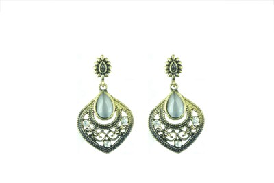 Vanity Roots Antique Love Crystal Alloy Drop Earring