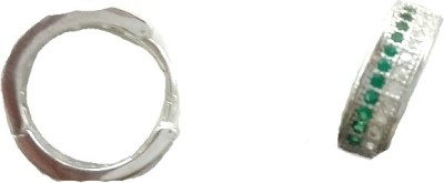 Vummidi Bangaru Chetty & Sons Dazzling Bali` Sterling Silver Clip-on Earring