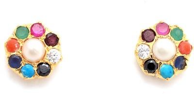 Jewar Mandi Fashion Jewellery Cubic Zirconia Alloy Drop Earring