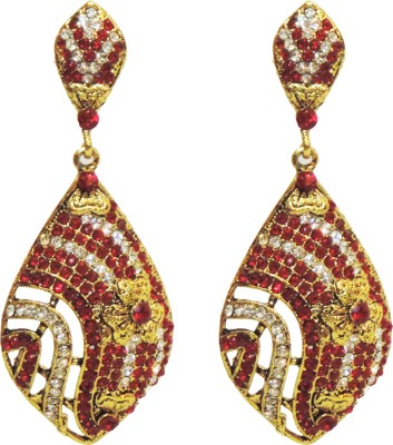 Traditsiya Floral Exquisite Alloy Drop Earring