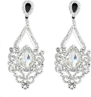 Amour PartyWear Crystal Alloy Chandelier Earring