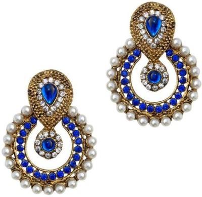 Jewels Guru Bollywood Diva Style Zircon Alloy Chandelier Earring