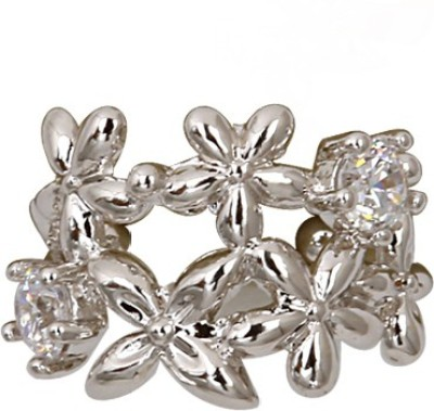 Madclozet Bouquet Metal Cuff Earring