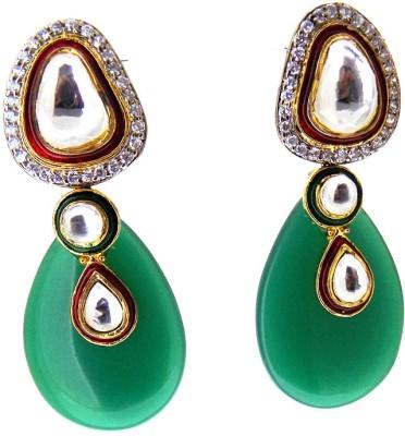 Aabhushan Onyx, Crystal Alloy Drop Earring
