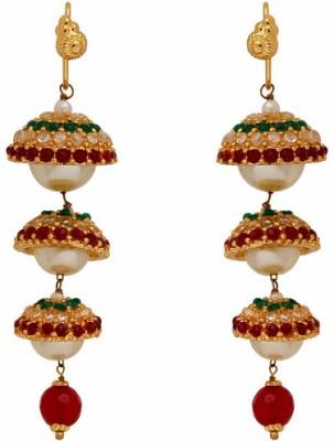 Nisa Pearls Shell Dangle Earring