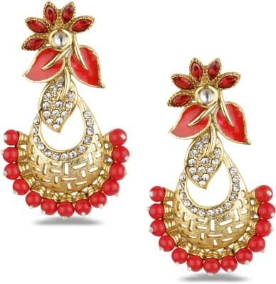 Bridesmaid Crystal Copper Chandelier Earring