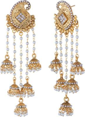 Tatva Five Step Alloy Jhumki Earring