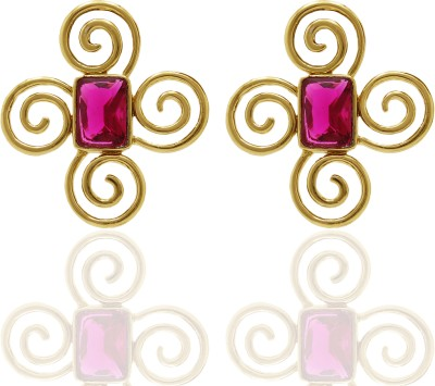 Ishaani Love Forever Cubic Zirconia Alloy Stud Earring