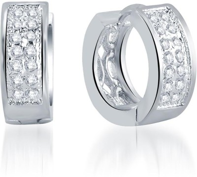 Sukkhi Incredible Micro Pave Alloy Huggie Earring