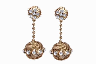 NM Products Coppper Alloy Drop Earring
