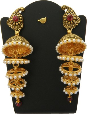 Shreyadzines Alloy Jhumki Earring