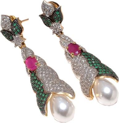 Jewar Mandi Unique Jewellery Metal Drop Earring