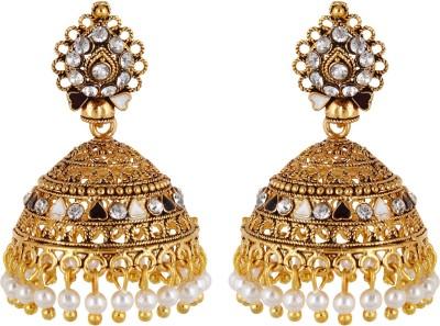 Navya Navya Collection Jhumki Earrings Brass Jhumki Earring