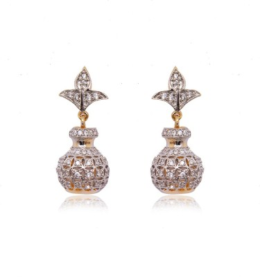Ratnakar small zumkhi in antique design Alloy Jhumki Earring