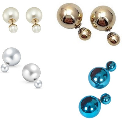 CTW Classic Stunning Combo Pack Alloy Stud Earring