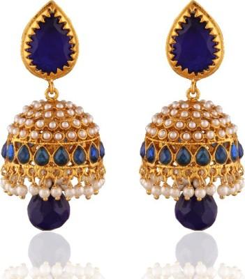 Panini Spring Sprkle Brass Jhumki Earring