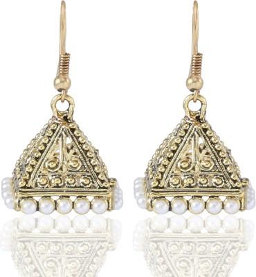 Castle Street Chic Triangle Alloy Jhumki Earring