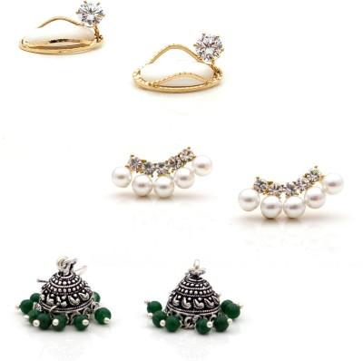 FTBY Brass Earring Set