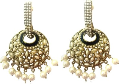 Deco Junction Traditional Alloy Chandbali Earring