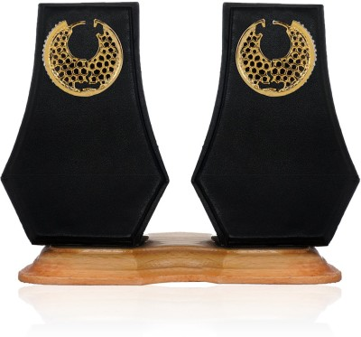 Aamoye Elegant and Stylish Brass Chandbali Earring