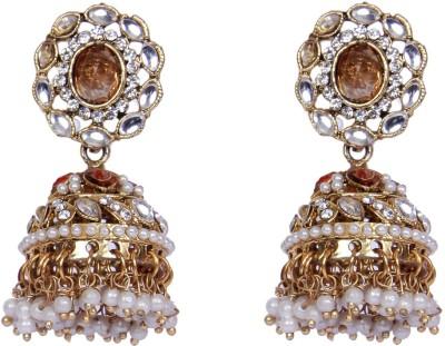 Traditsiya Designer Jhumka Alloy Jhumki Earring