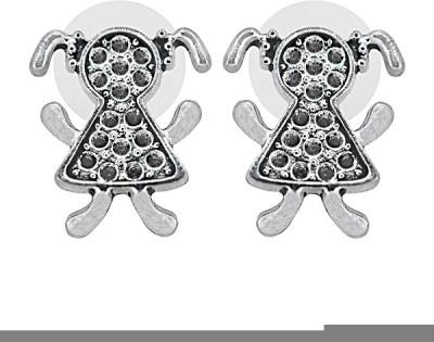 The Fine World Designer Metal Stud Earring