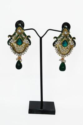 Ankur Brass Chandelier Earring